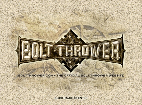 Click here to Enter Bolt Thrower.com