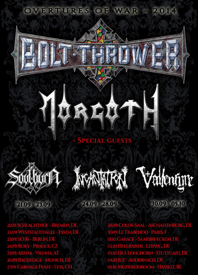 Bolt Thrower - Overtures of War 2014